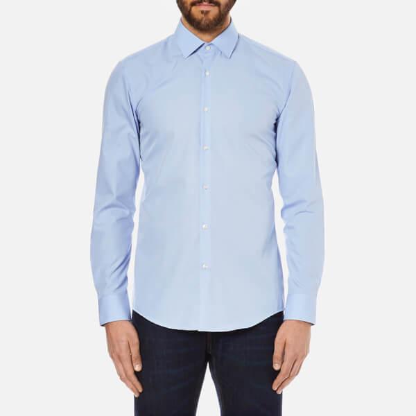 HUGO Men's C-Jenno Long Sleeve Shirt - Light Pastel Blue