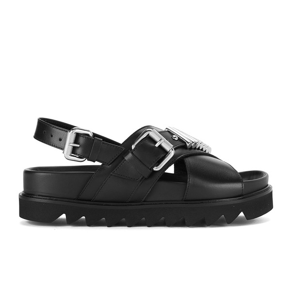McQ Alexander McQueen Women's Stoke Bullet Sandals - Black