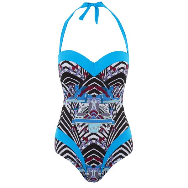 Paolita Women's Rhapsody Gershwin Swimsuit - Blue