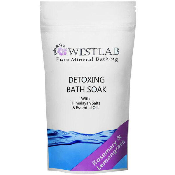 Sales de bañoDetox Himalayan Salt Bath Soak de Westlab