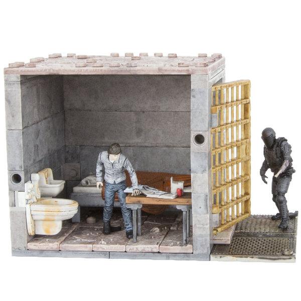 McFarlane The Walking Dead Lower Prison Cells Construction Set