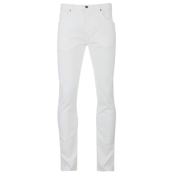 Helmut Lang Men's Core Twill Skinny Jeans - White