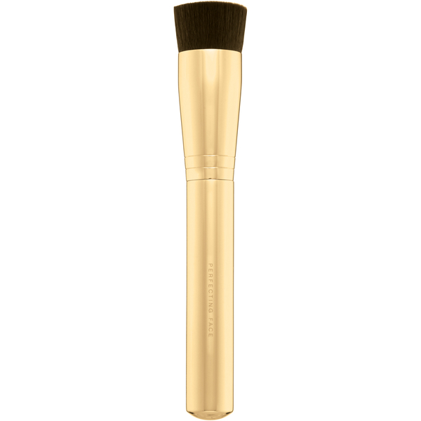 bareMinerals Lovescape Perfecting Face Brush with Gold Handle