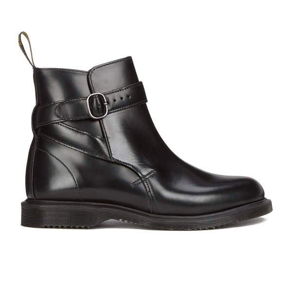 Dr. Martens Women's Teresa Jodphur Ankle Boots - Black Polished Smooth