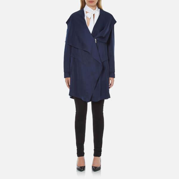 BOSS Orange Women's Odrapa Jacket - Dark Blue