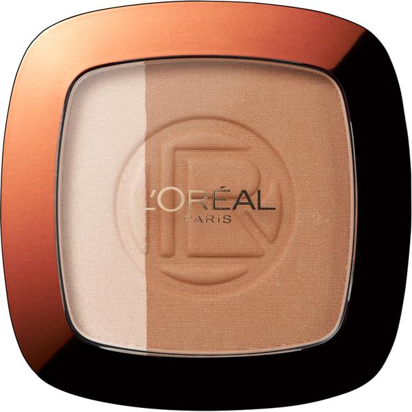 Polvos de sol Glam Bronzer Duo - 101 Blonde Harmony de L'Oréal Paris