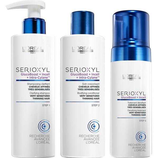 L'Oreal Professionnel Serioxyl Kit 3 for Sensitised Hair 625ml
