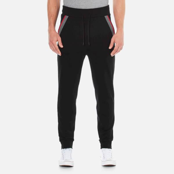 HUGO Men's Deramo Cuffed Sweatpants - Black