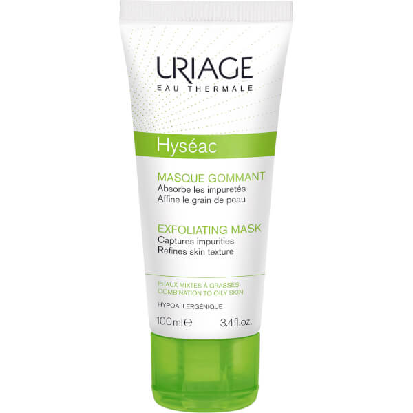 Mascarilla Exfoliante 2 en 1 Uriage Hyséac (100ml)