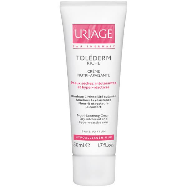 Uriage Toléderm保湿滋润舒缓霜(适用于敏感肌肤或不耐受肌肤或极干性皮肤)(50ml)