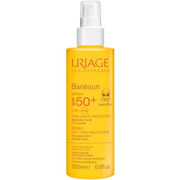 Spray solaire Bariésun pour bébés FPS50+ d'Uriage (200ml)