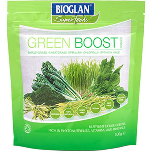 Bioglan Superfoods Supergreens Green Boost - 100g