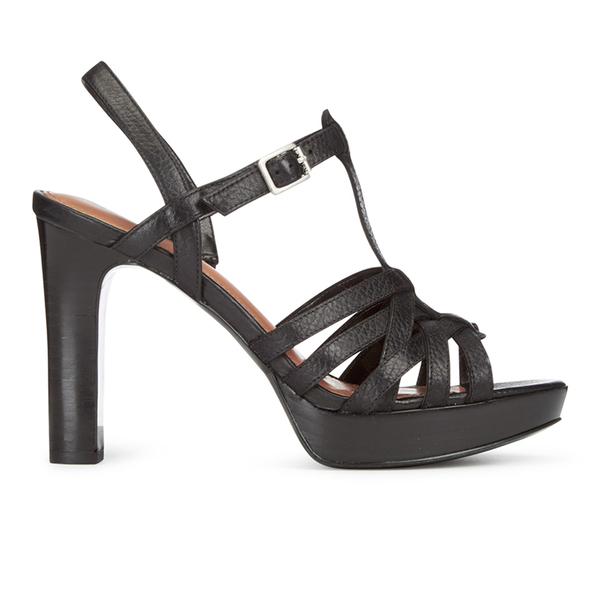 Lauren Ralph Lauren Women's Shania Heeled Sandals - Black