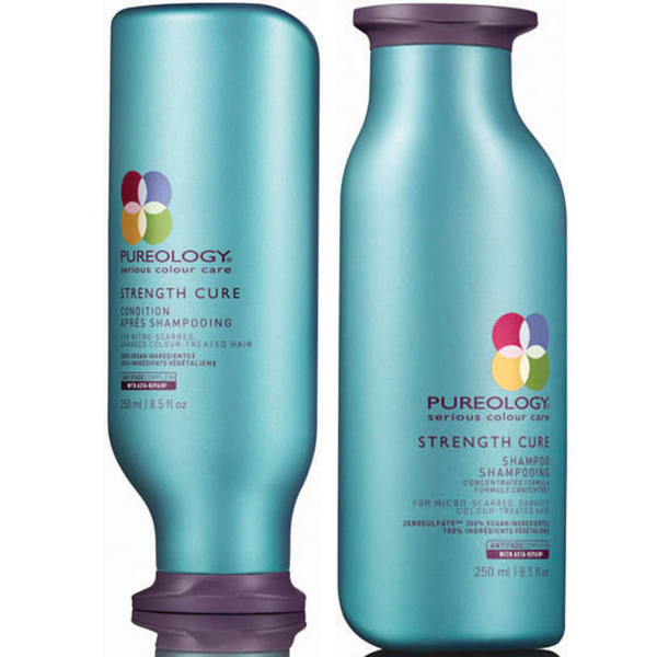 Pureology Strength Cure Shampoo and Conditioner (250ml)