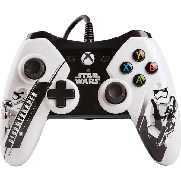 manette filaire xbox one star wars episode 7 licence officielle microsoft games accessories. Black Bedroom Furniture Sets. Home Design Ideas