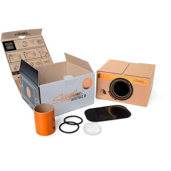 Smartphone Projector 2.0 - Copper | IWOOT