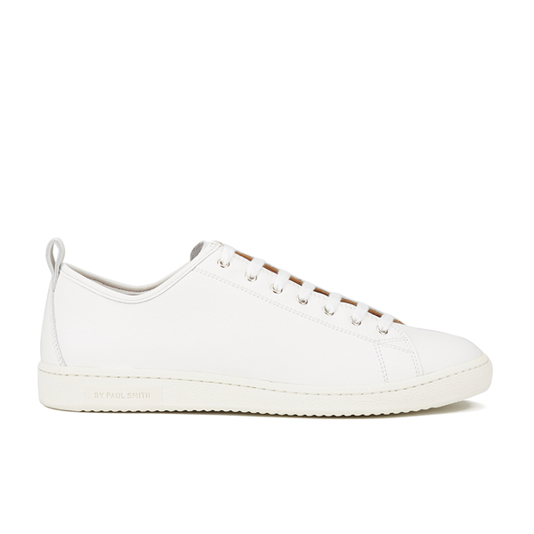 PS by Paul Smith Men's Miyata Leather Trainers - White Seta Calf