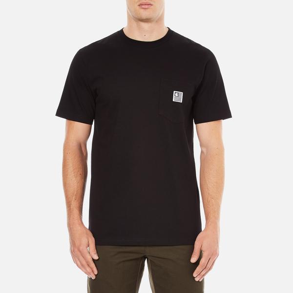 Carhartt Men's Short Sleeve State Pocket T-Shirt - Black
