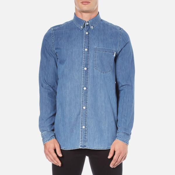Carhartt Men's Long Sleeve Civil Shirt - Stone Wash