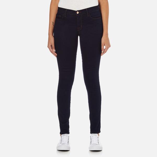 J Brand Women's Mid Rise 811 Skinny Jeans - Ink