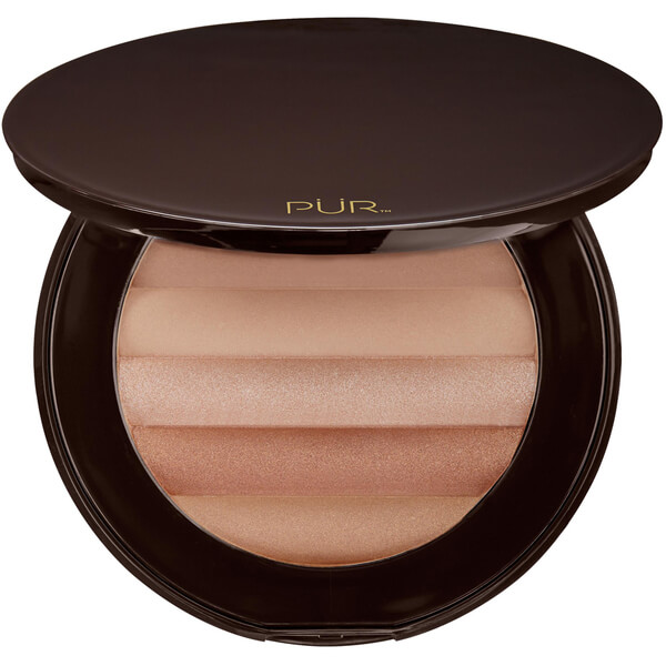 Glow Together Gradient Matte-Shimmer Bronzer de PÜR 17g