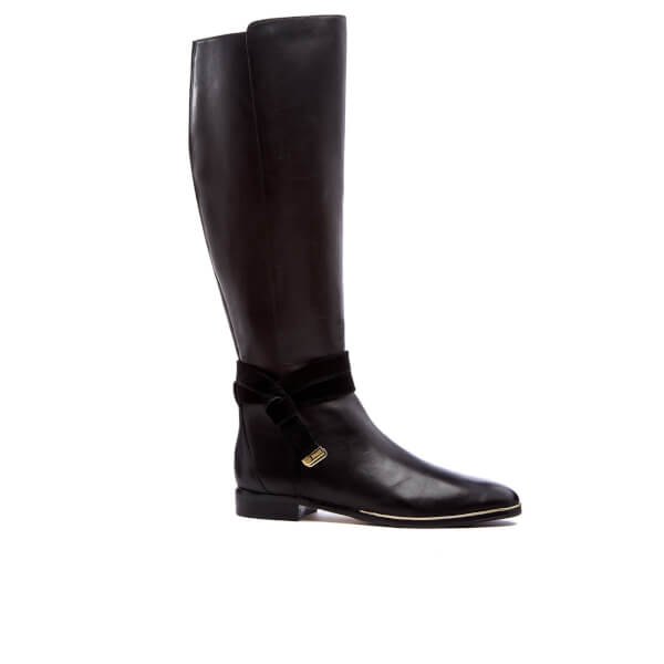 Ted Baker Women's Enjaku Leather Knee High Boots - Black