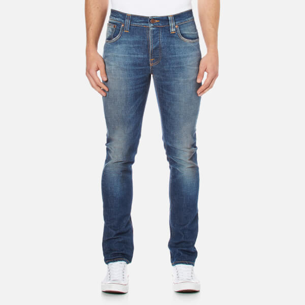 Nudie Jeans Men's Grim Tim Slim Jeans - Douglas Replica