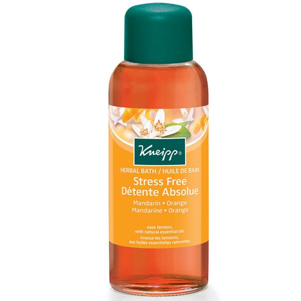 Kneipp Stress Free Herbal Mandarin and Orange Bath Oil (100ml)