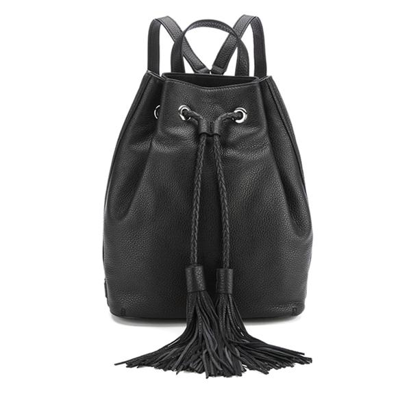 Rebecca Minkoff Women's Isobel Tassel Backpack - Black