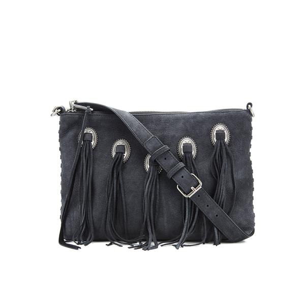 Rebecca Minkoff Women's Western Medium Crossbody - Black