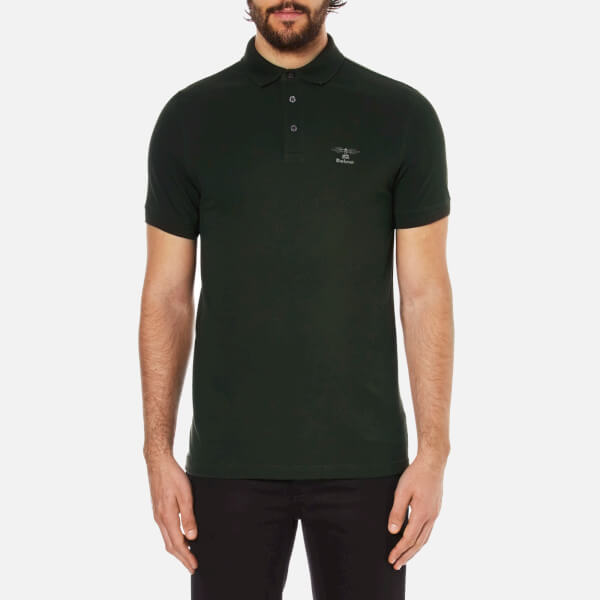 Barbour Heritage Men's Joshua Polo Shirt - Forest