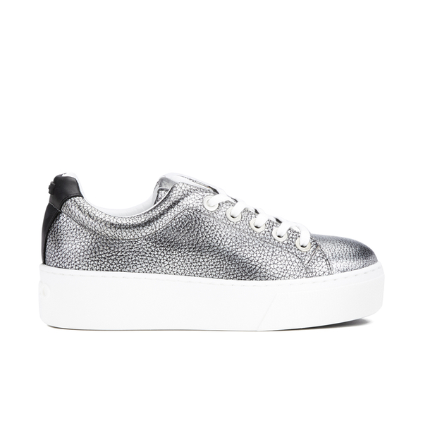 KENZO Women's K-Lace Low Top Trainers - Silver