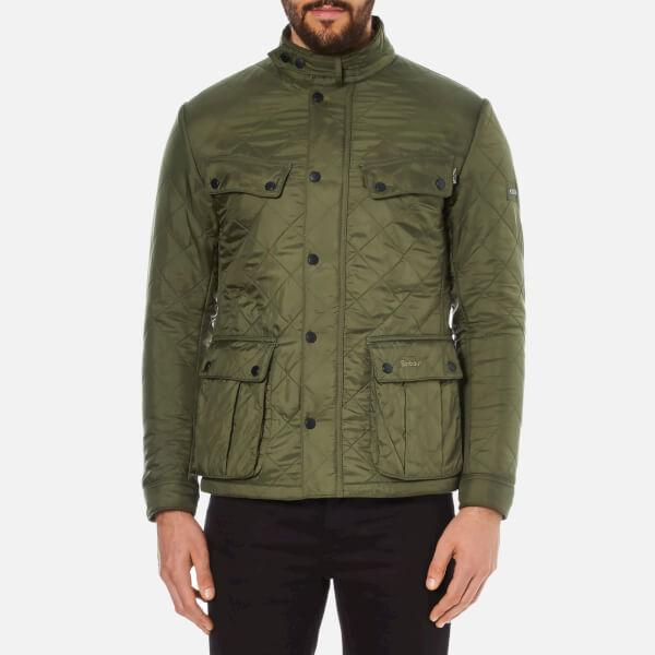 Barbour International Men's Ariel Polarquilt Jacket - Olive