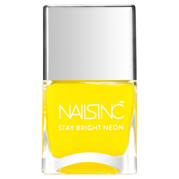nails inc. Golden Lane Nail Polish - Neon Yellow 14ml