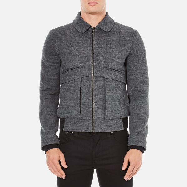 Carven Men's Zipped Blouson Jacket - Gris Grenat