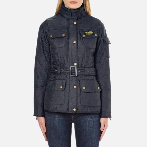 Barbour International Women's Polarquilt Jacket - Darker Navy