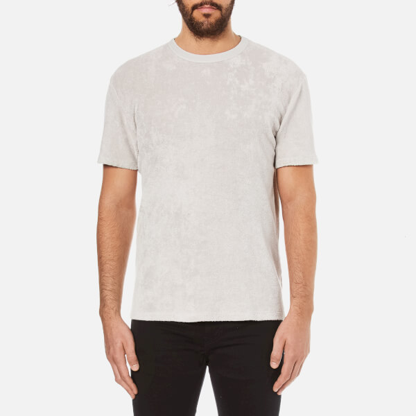 Our Legacy Men's Terry Towelling Perfect T-Shirt - Cloud Light Grey