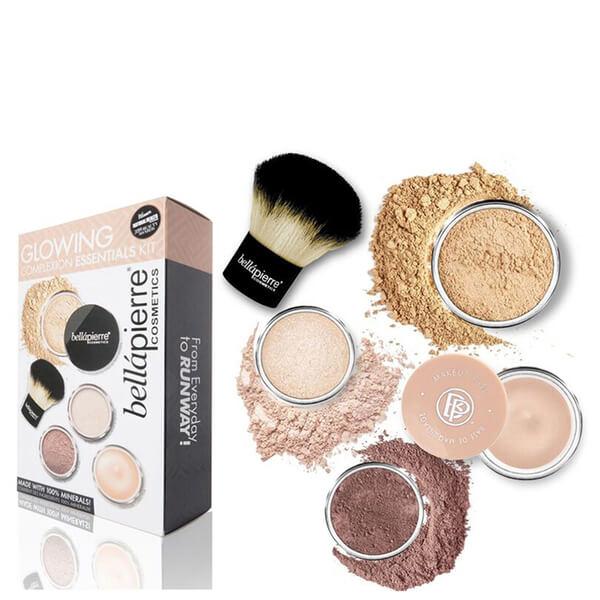 Kit des indispensables peau radieuse Glowing Complexion Bellapierre Cosmetics -Intermédiaire