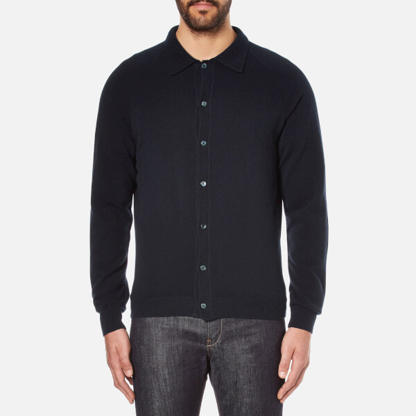 A Kind of Guise Men's Aria Polo Jacket - Dark Navy