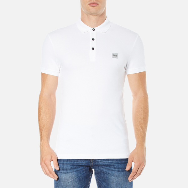 BOSS Orange Men's Pavlik Polo Shirt - White
