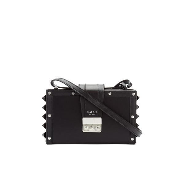 SALAR Women's Lou Box Bag - Black
