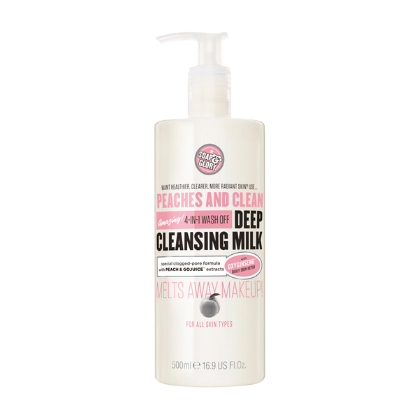 Soap and Glory Peaches and Clean Deep Cleansing Milk