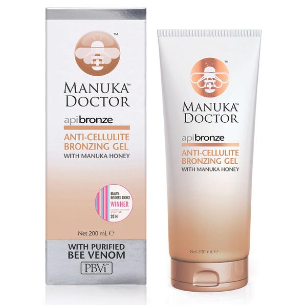 Gel bronzant Anti-cellulite ApiBronze Manuka Doctor200 ml