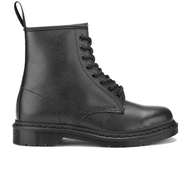 Dr. Martens Men's 1460 Pebble Leather 8-Eye Boots - Black