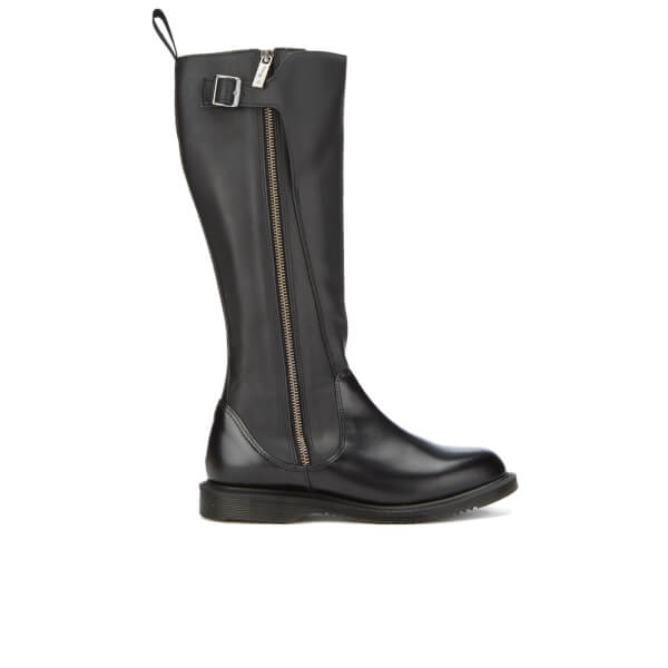 dr martens s chianna polished smooth knee high