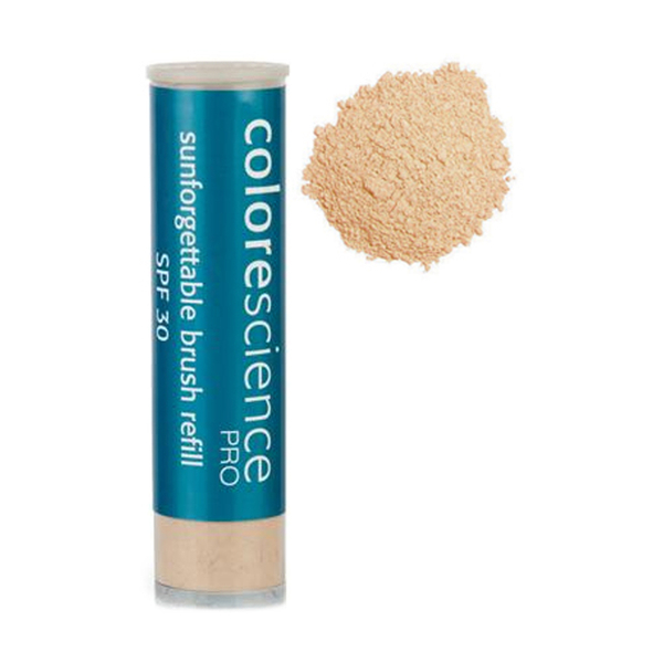 Colorescience Retractable Brush Matte Refill Perfectly Clear - Medium