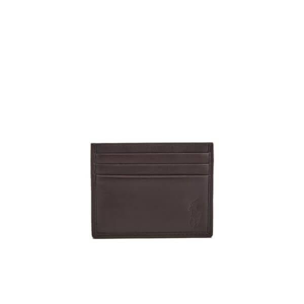Polo Ralph Lauren Men's Card Case - Mahogany