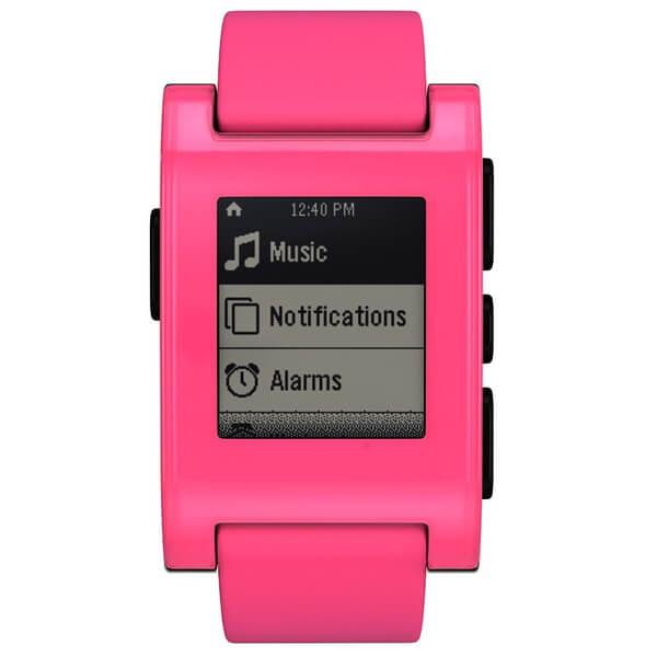 Pebble Classic Smartwatch - Pink