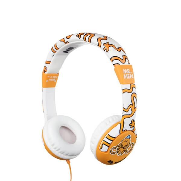 Mr. Men Children's On-Ear Headphones - Mr. Tickle