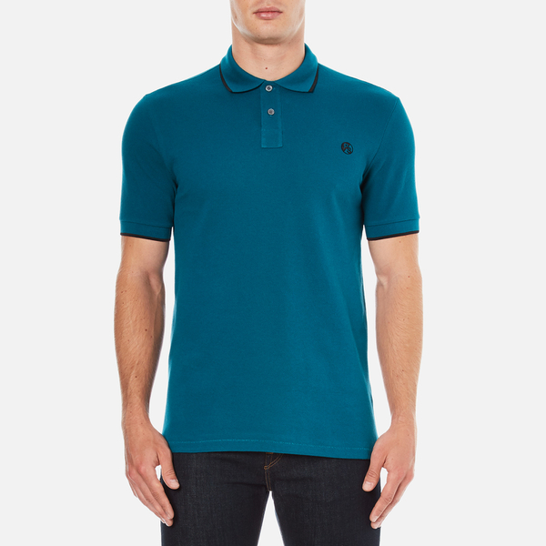 PS by Paul Smith Men's Regular Fit Polo Shirt - Turquoise